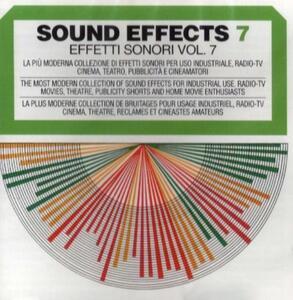 Sound Effects vol.7 - CD Audio