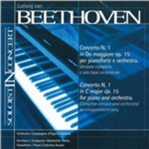 Concerto No.1 - CD Audio di Ludwig van Beethoven