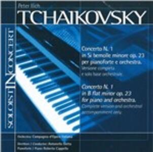 Concerto per pianoforte n.1 - CD Audio di Pyotr Il'yich Tchaikovsky