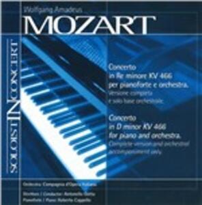 Concerto In D Minor - CD Audio di Wolfgang Amadeus Mozart