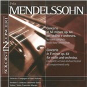 Concerto In E - CD Audio di Felix Mendelssohn-Bartholdy