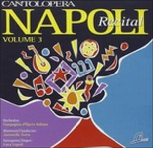 Napoli Recital N.3 - CD Audio