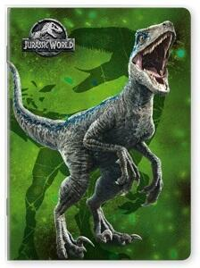 Quaderno maxi A4 Jurassic World. 1 rigo