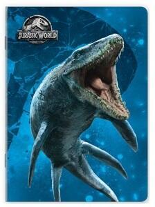 Quaderno maxi A4 Jurassic World. 1 rigo - 2