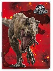 Quaderno maxi A4 Jurassic World. 1 rigo - 4
