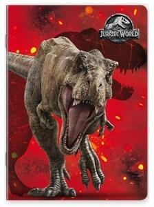 Quaderno maxi A4 Jurassic World. Quadretti piccoli 4 mm