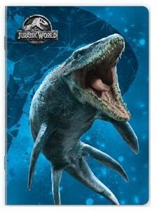 Quaderno maxi A4 Jurassic World. Quadretti piccoli 4 mm - 4
