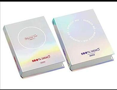 Cartoleria Diario Smemoranda 2021-2022, 16 mesi Mirror Me Assortito - 13x17,7 cm Smemoranda