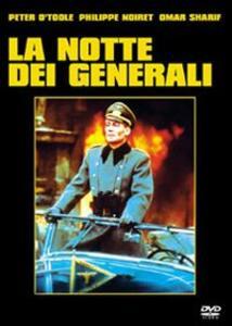 La notte dei generali di Anatole Litvak - DVD