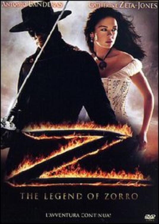 The legend of Zorro di Martin Campbell - DVD