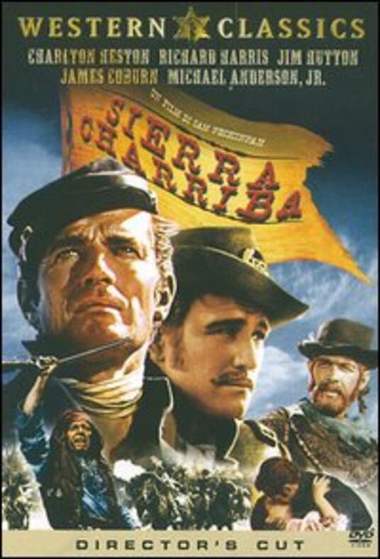 Sierra Charriba di Sam Peckinpah - DVD