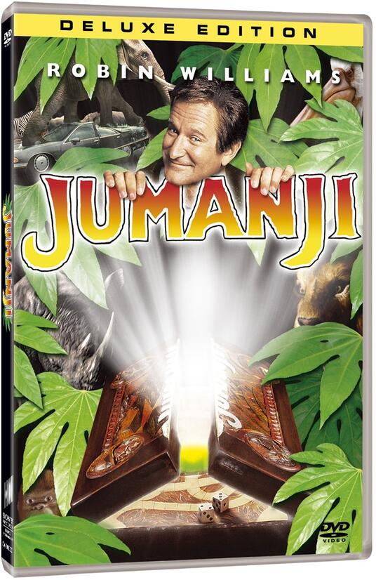 Jumanji<span>.</span> Deluxe Edition di Joe Johnston - DVD