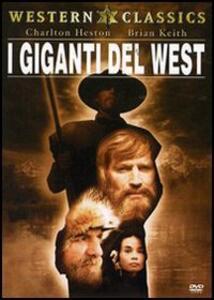 I giganti del West di Richard Lang - DVD
