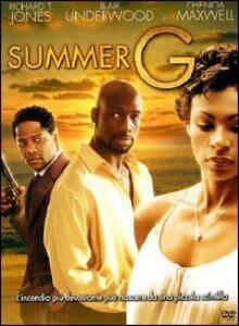 Summer G di Christopher Scott Cherot - DVD