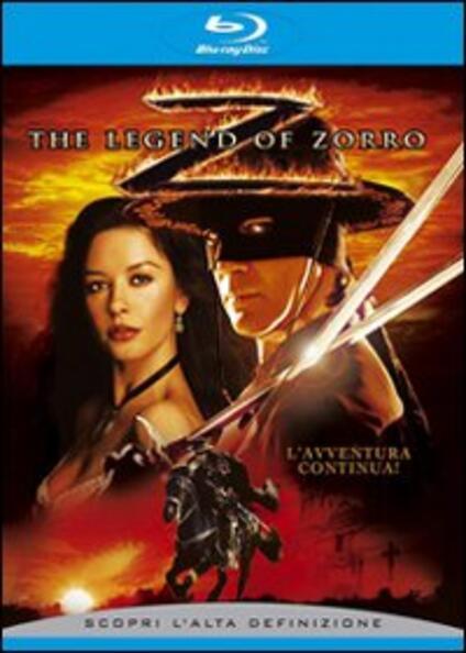 The legend of Zorro di Martin Campbell - Blu-ray