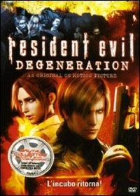 Cover Dvd Resident Evil. Degeneration