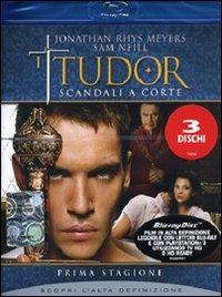Cover Dvd Tudor. Scandali a corte. Stagione 1