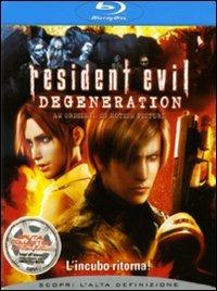 Cover Dvd Resident Evil. Degeneration (Blu-ray)