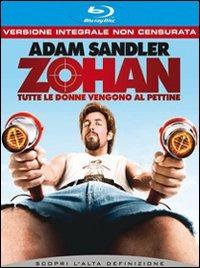 Cover Dvd Zohan. Tutte le donne vengono al pettine