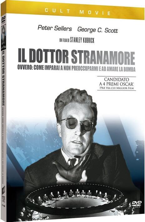 Il dottor Stranamore, ovvero come imparai a non preoccuparmi... di Stanley Kubrick - DVD