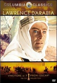 Cover Dvd Lawrence d'Arabia