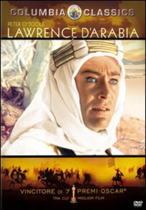Lawrence d'Arabia di David Lean - DVD