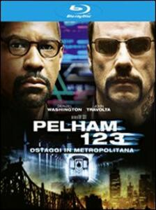 Pelham 1-2-3. Ostaggi in metropolitana di Tony Scott - Blu-ray