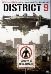 Cover Dvd District 9. Vietato ai non-umani (1 DVD)