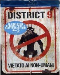 Cover Dvd District 9. Vietato ai non-umani