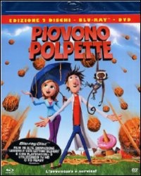 Cover Dvd Piovono polpette (Blu-ray)