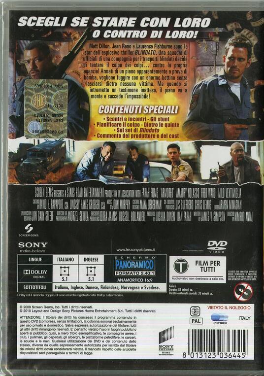 Blindato di Nimród Antal - DVD - 2