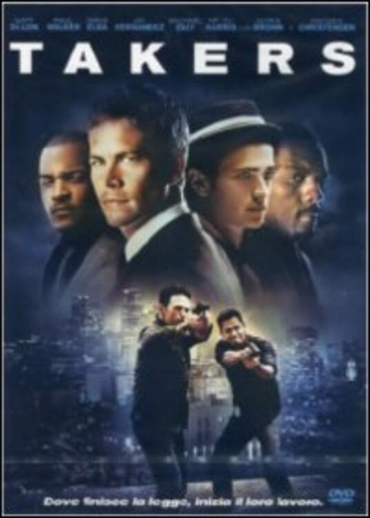 Takers di John Luessenhop - DVD