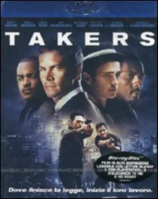 Takers di John Luessenhop - Blu-ray