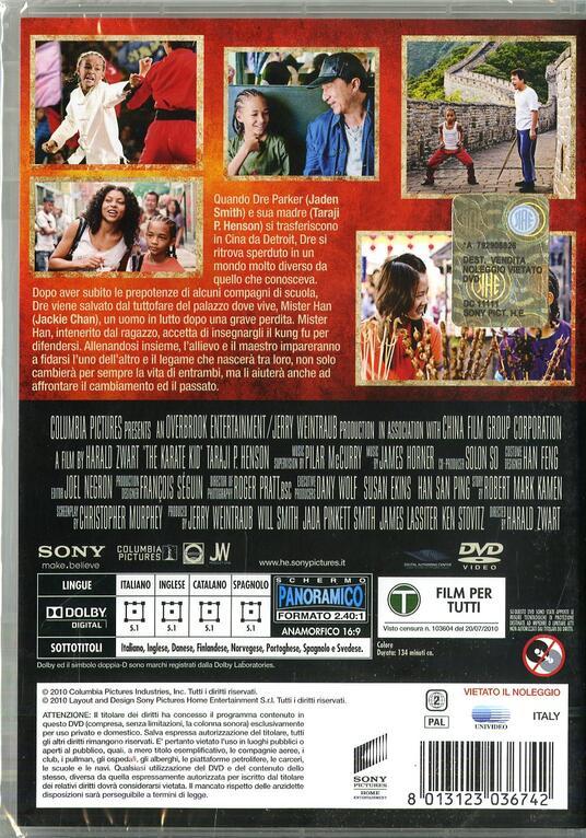 Karate Kid. La leggenda continua di Harald Zwart - DVD - 2