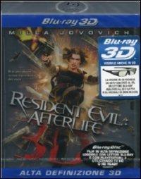 Cover Dvd Resident Evil: Afterlife 3D