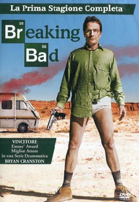 Breaking Bad. Stagione 1 (Serie TV ita) (3 DVD) di Vince Gilligan,Adam Bernstein,Jim McKay,Tricia Brock - DVD