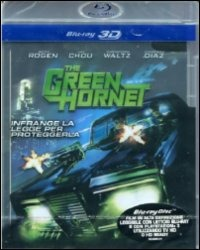 Cover Dvd The Green Hornet 3D