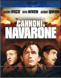 Cover Dvd cannoni di Navarone (Blu-ray)