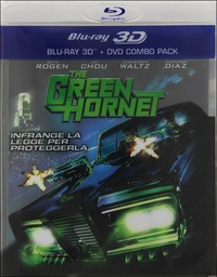 Cover Dvd The Green Hornet 3D (Blu-ray)