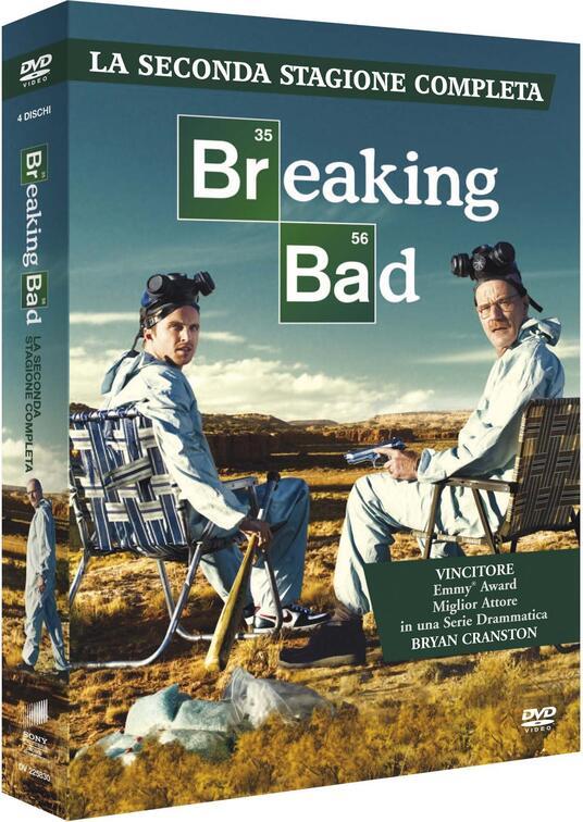 Breaking Bad. Stagione 2 (Serie TV ita) (3 DVD) di Bryan Cranston,Charles Haid,Terry McDonough,John Dahl - DVD