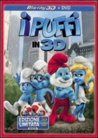 Cover Dvd I Puffi 3D (Blu-ray)