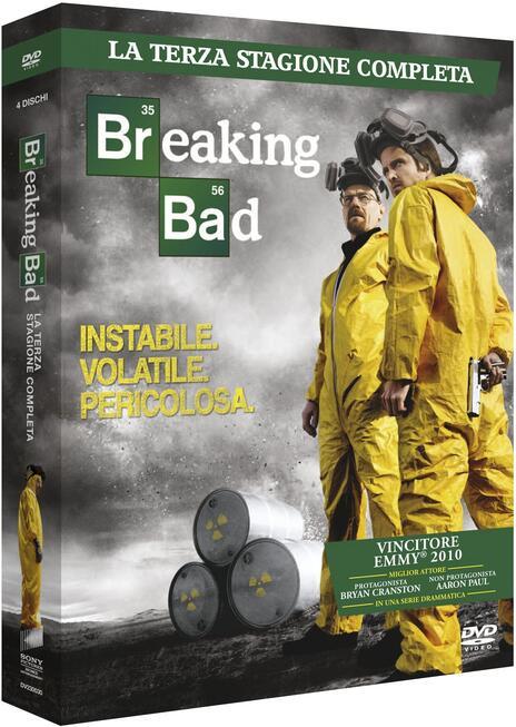 Breaking Bad. Stagione 3 (Serie TV ita) (4 DVD) di Bryan Cranston,Adam Bernstein,Michelle MacLaren - DVD