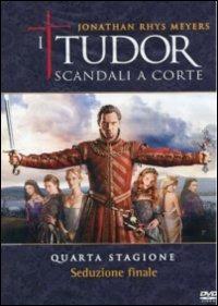 Cover Dvd Tudor. Scandali a corte. Stagione 4 (DVD)
