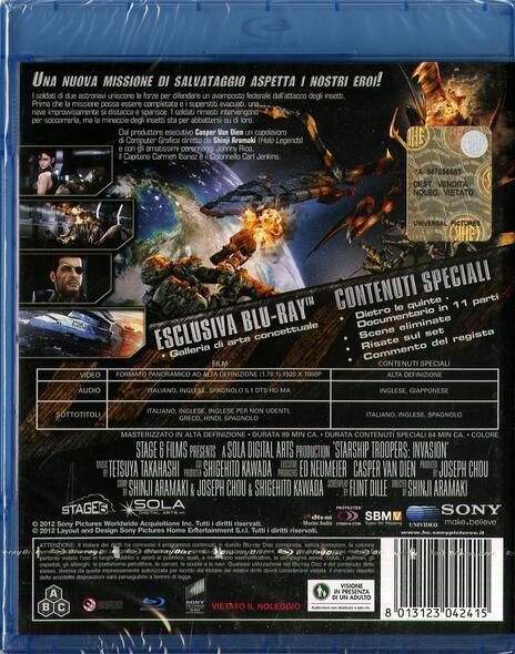Starship Troopers. L'invasione di Shinji Aramaki - Blu-ray - 2