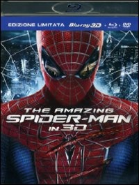 Cover Dvd The Amazing Spider-Man 3D. Limited Edition (Blu-ray)