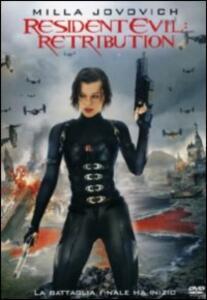 Resident Evil: Retribution di Paul W.S. Anderson - DVD