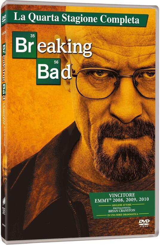 Breaking Bad. Stagione 4 (Serie TV ita) di Adam Bernstein,Michelle MacLaren,David Slade,Colin Bucksey - DVD
