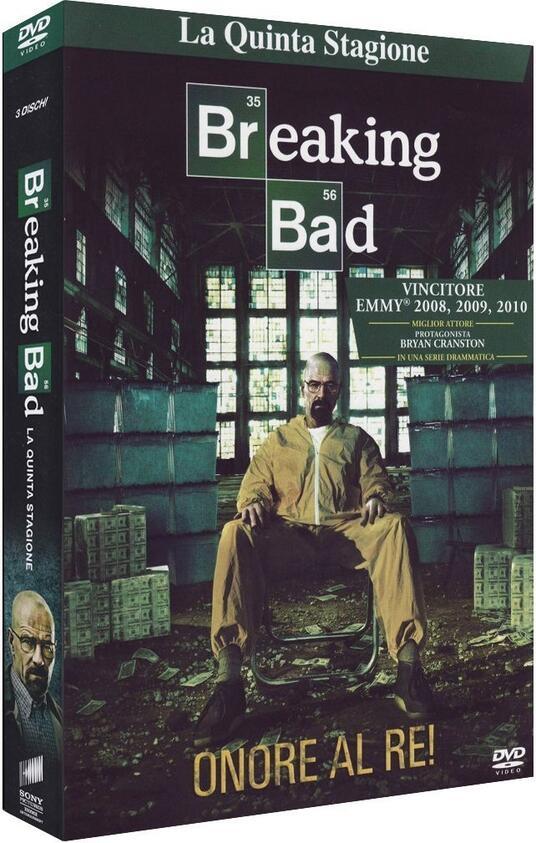 Breaking Bad. Stagione 5. Parte 1 (Serie TV ita) (3 DVD) di Michael Slovis,Michelle MacLaren,Adam Bernstein - DVD