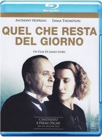 Cover Dvd Quel che resta del giorno (Blu-ray)