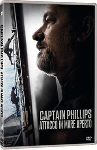 Captain Phillips. Attacco in mare aperto di Paul Greengrass - DVD